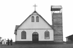 maringá Catedral da Santíssima Trindade (depois, de Nossa Senhora da Glória), em 1950