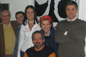 Gladimir Nascimento, Maria Rafart, Marden Machado, Michelle Thomé e José Wille em 2004.