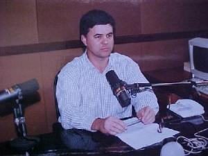 O primeiro dia da CBN Curitiba, em 5 de maio de 1995.