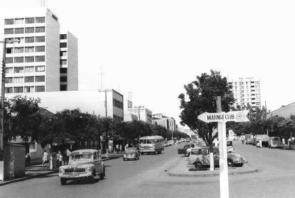 maringá avenida placa maringá club