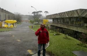 Neve em Curitiba. Foto de Ciro Junior.