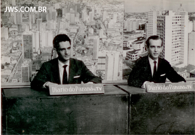 """Apresentação do """"Diário do Paraná"""" na TV"""