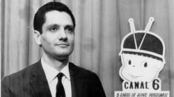 Prêmio Curumim do Canal 6 por 5 anos de casa nos anos 1960