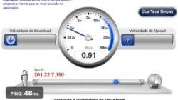 velocidade web