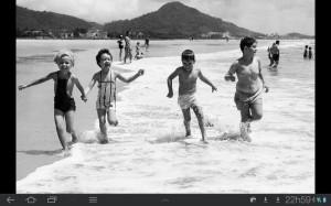 Caiobá praia brava crianças anos 1970 jws