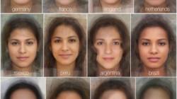 mulheres rostos comparação