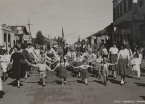paranavai   07 DE SETEMBRO DE 1957-  RUA MANUEL RIBAS