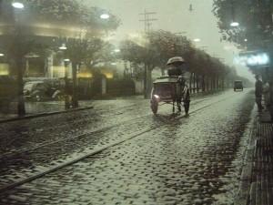sp 1940 AVENIDA ANGELICA COM RUA MARTINHO PRADO- FOTO DE H.ROSENTHAL