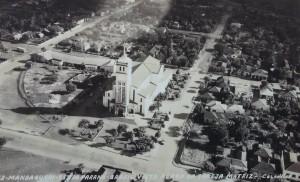mandaguari por volta de 1960 aérea igreja jws.com.br