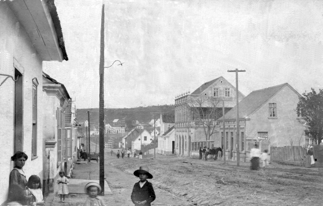 Rua XV de Novembro (1910)