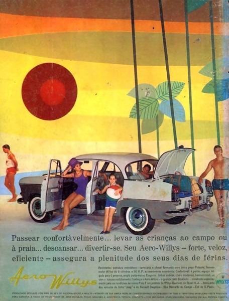 anuncios - aero willys --- carros