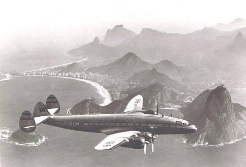 avião - PANAIR do BRASIL .