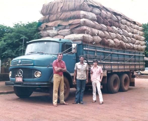 caminhão antigo algodão