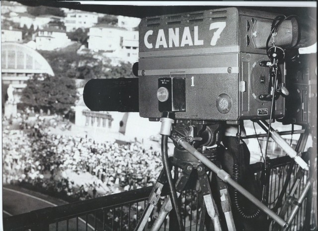 tv canal 7 record sp no Pacaembu anos 1960 aprox