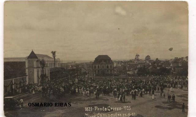 ponta-grossa-PRAÇA-BARÃO-DO-RIO-BRANCO.-23-DE-SETEMBRO-DE-1923.