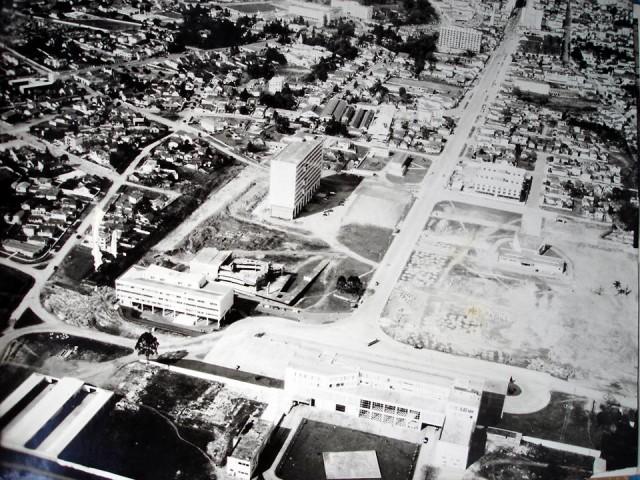 curitiba centro civico 1960