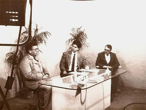tv estudio canal 12 pb web 1985 jose wille bom dia parana