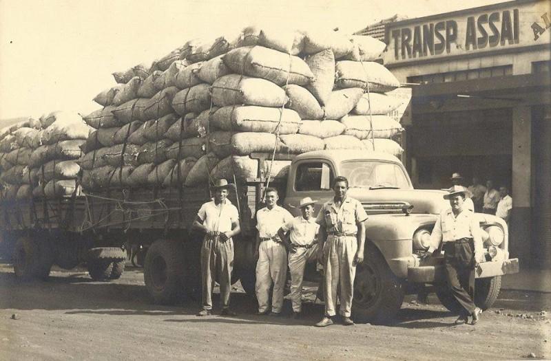 assaí 1948 aprox -  grupo de Luiz Sergio Piornedo