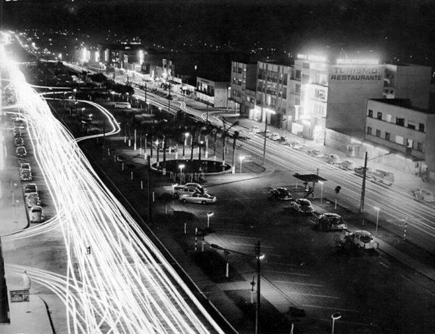 cascavel anos 1970 noite