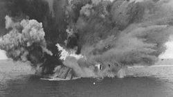 explosão navio