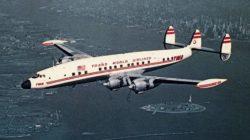 avião twa anos 1950 - jws