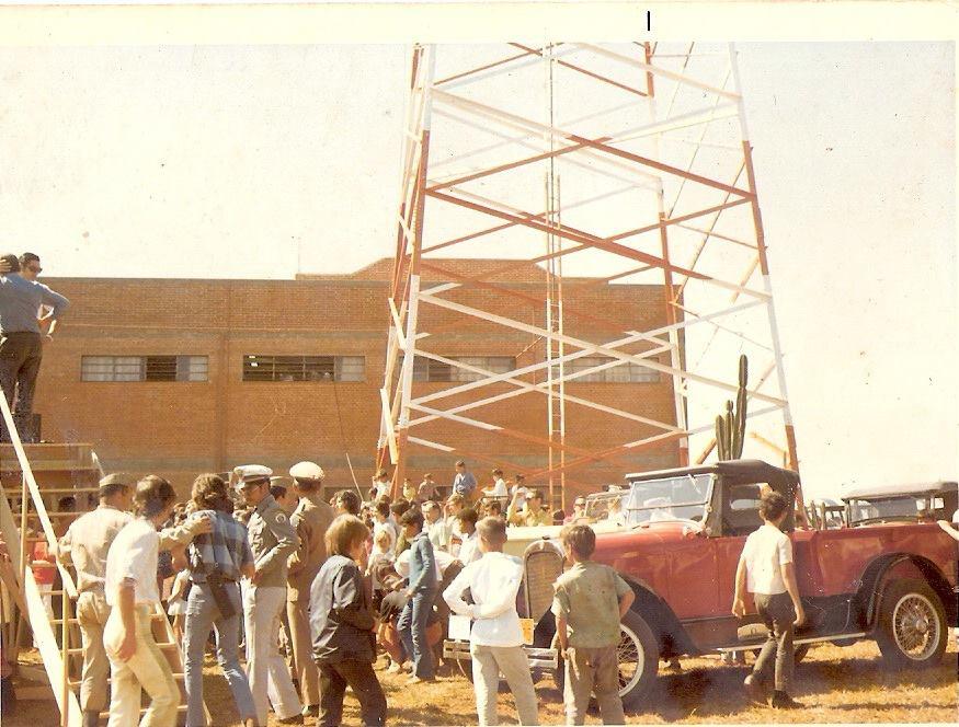tv tibagi inauguração pé torre